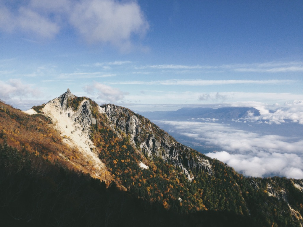 地蔵岳(鳳凰三山)