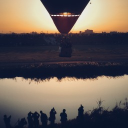 FAI World Hot Air Balloonn Championship, SAGA by michicusa